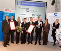 2008: Der Staatspreis Marketing 2007 wurde an Fritz Egger GmbH & Co Holzwerkstoffe verliehen