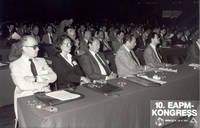 1981: 10. EAPM-Kongress (European Association for Personnel Management) mit über 400 TeilnehmerInnen aus ganz Europa